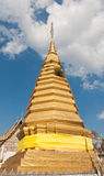 Buddhist golden pagoda Royalty Free Stock Images