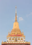 Buddhist golden pagoda Stock Photos