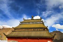 Buddhist gompa, shanti stupa Royalty Free Stock Image
