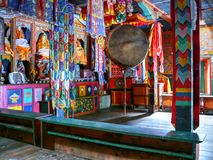 Buddhist gompa in Thoche, Nepal Royalty Free Stock Images