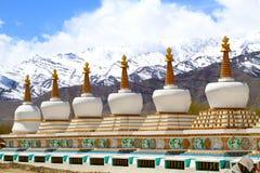 Buddhist gompas Stock Image