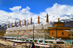 Buddhist gompas Stock Images