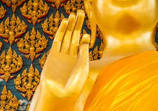 Buddhist hand sign Stock Image