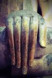 Buddhist'hand-Statue Stockfotos