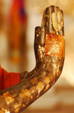 Buddhist Hands in Prayer. Thailand. Stock Images