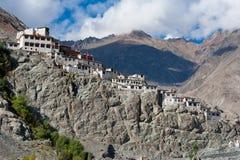 Buddhist Heritage, Diskit Monastery Temple. India Royalty Free Stock Image