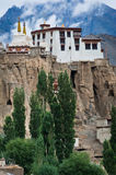 Buddhist heritage, Lamayuru monastery at Hymalaya Stock Images
