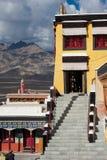 Buddhist heritage, Thiksey monaster. India, Ladakh Royalty Free Stock Image