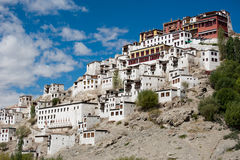 Buddhist heritage, Thiksey monastery. India Stock Images