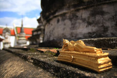 Buddhist historical site in Thailand. Royalty Free Stock Photography