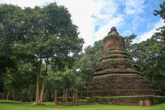 Buddhist historical site in Thailand. Royalty Free Stock Photos