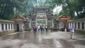 Buddhist holy land. This is the famous nanhua temple Royalty Free Stock Photography