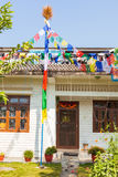 Buddhist house Royalty Free Stock Images