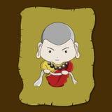 Buddhist illustration Royalty Free Stock Photography