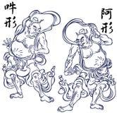 Buddhist image, Stock Image