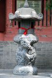 Buddhist incense burner with. In shanxi of china Stock Photos