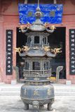 Buddhist incense burner. With in shanxi of china Stock Photography