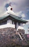 Buddhist inscriptions stock image