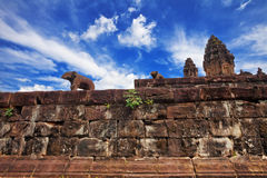 Buddhist khmer temple in Angkor Wat Royalty Free Stock Photos