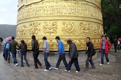 Buddhist khor Royalty Free Stock Image