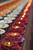 Buddhist lamps Stock Photos