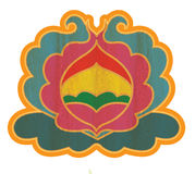 Buddhist Lotus Shape Ornament Stock Images