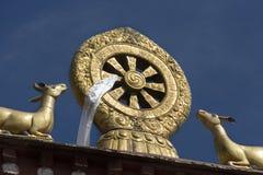 Buddhist Mandela - Drepung Monastery - Lhasa - Tibet Stock Image