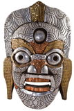 Buddhist Mask. Buddhist ceremonial mask from Nepal Royalty Free Stock Images