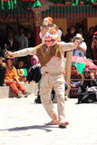 Buddhist mask dancer-3. Royalty Free Stock Photos