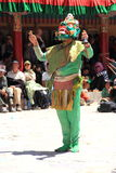 Buddhist mask dancer-4 Stock Photography