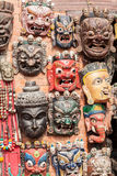 Buddhist masks Royalty Free Stock Photography