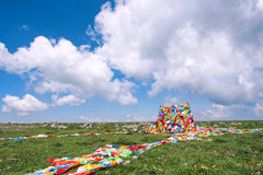 Buddhist meadow Stock Images