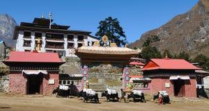 Buddhist Monastery 3 Royalty Free Stock Image