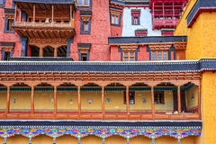 Buddhist monastery building Royalty Free Stock Photos