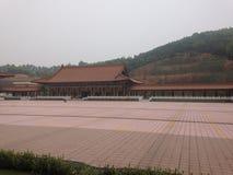 Buddhist monastery entrance Royalty Free Stock Photos