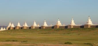 Buddhist monastery Erdene Zu Stock Photos