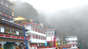 A buddhist monastery ghum Stock Image