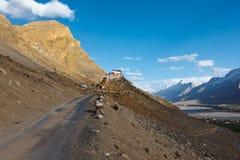 Buddhist monastery in Himalayas Royalty Free Stock Photos