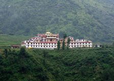 Buddhist Monastery II. Buddhist Monastery in Himalayas - India Stock Image