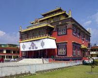 Buddhist Monastery - Kathmandu - Nepal Royalty Free Stock Images