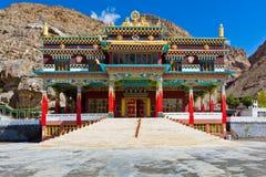 Buddhist monastery in Kaza, Spiti Royalty Free Stock Image