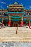 Buddhist monastery in Kaza, Spiti Valley Royalty Free Stock Photo