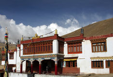 Buddhist monastery in ladakh Royalty Free Stock Images