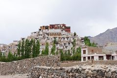 Buddhist monastery in Ladakh Royalty Free Stock Photos
