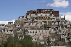 Buddhist Monastery in Ladakh Royalty Free Stock Image