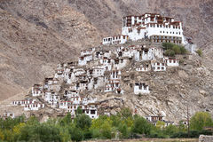 Buddhist monastery in Ladakh,   India Royalty Free Stock Photo