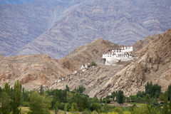 Buddhist monastery in Ladakh, Jammu Stock Photography