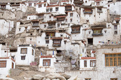 Buddhist monastery in Ladakh, Jammu & Kashmir, India Stock Image