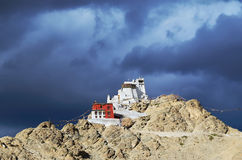Buddhist monastery in Leh Stock Photography