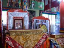 Buddhist Monastery near Ngawal, Nepal Royalty Free Stock Images